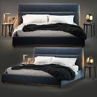 3D model porada kirk bed