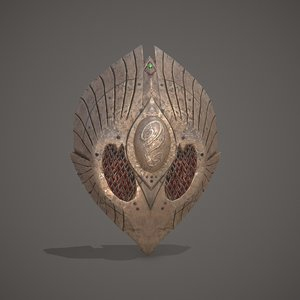 3D elves shield games model