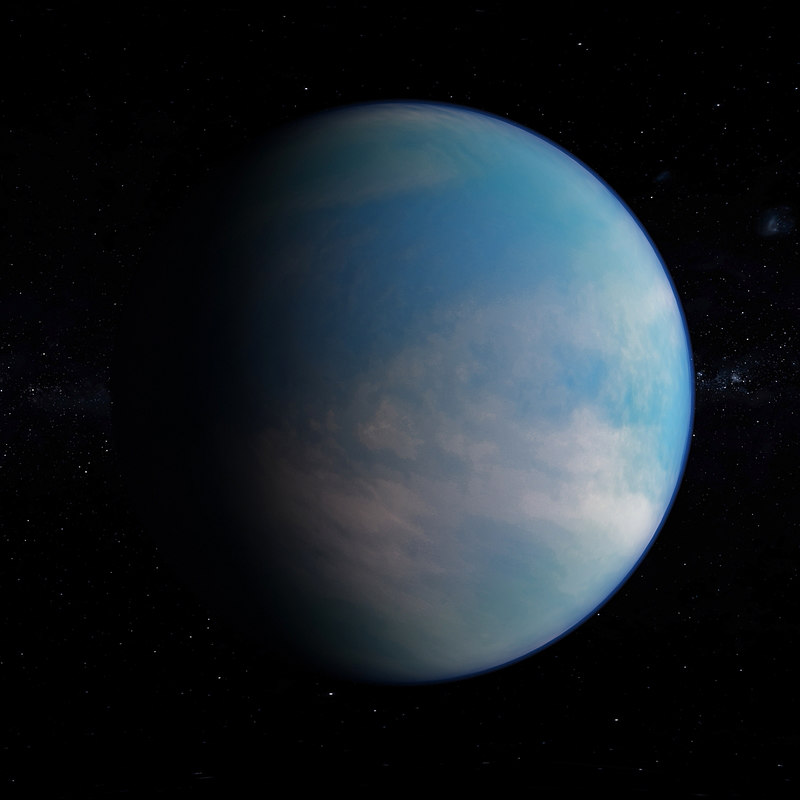 kepler-62e space objects 3D