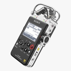 3D sony pcm d-100 recorder model