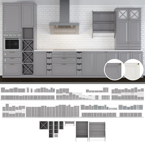 kitchen bodbyn 3D model