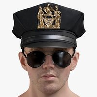 Male Police Head