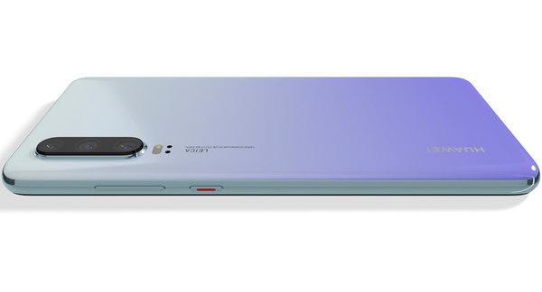 3D model realistic huawei p30 pro