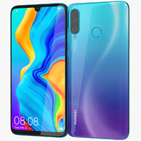 3D realistic huawei p30 lite