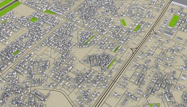 3D model gurugram delhi india