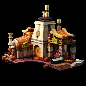 house blacksmith model