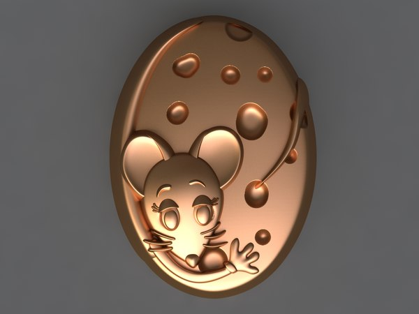 3D mouse mold hand