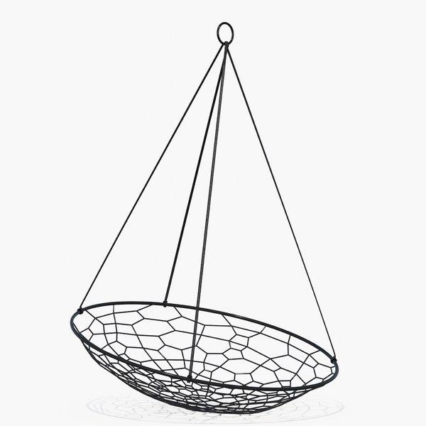 hanging oval black model