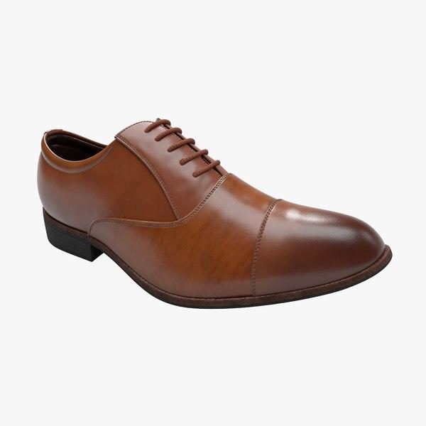 3D men s shoes model