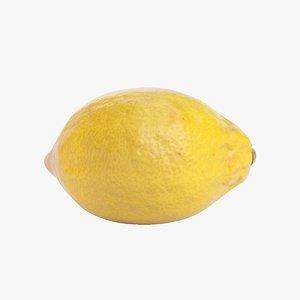 lemon real 3D model