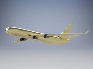3D aircraft air