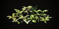 Tropical vegetation pack