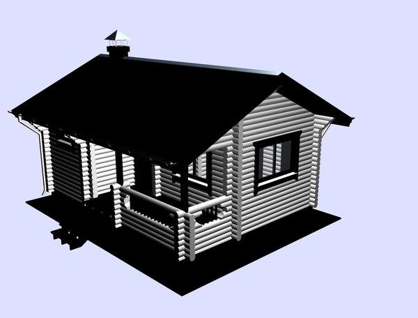 3D bathhouse house