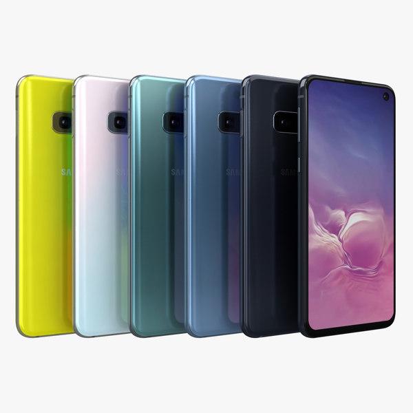 samsung galaxy s10e color model