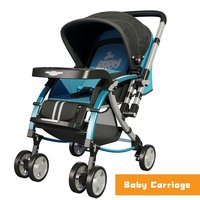 3D baby carriage model