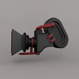 3D camera motion graphic