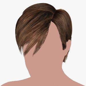 hairstyle 21 hair model