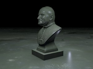 sculptor bust model