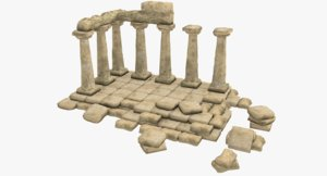 ancient 3D model