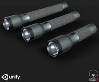 Flash Light PBR Specular Mobile LOD Sci-Fi