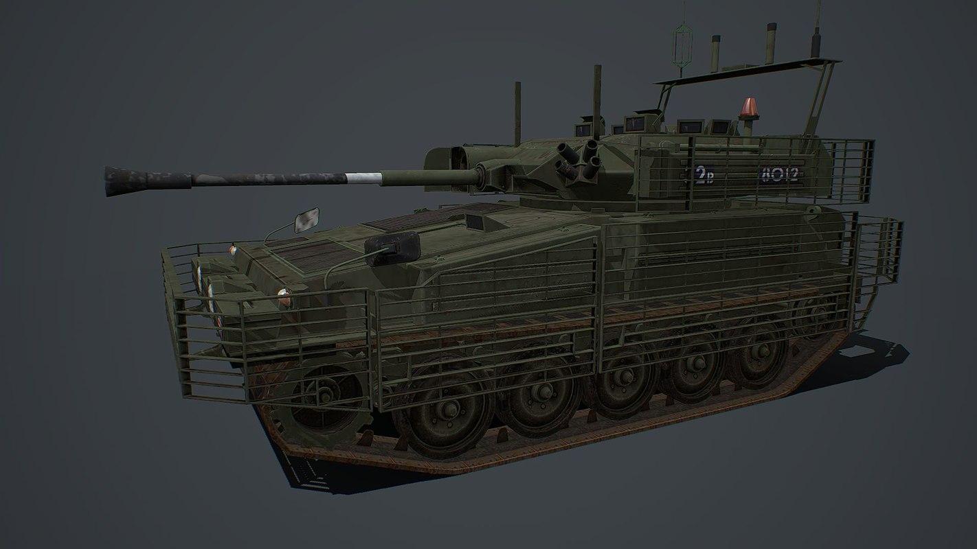 transport vehicle tank 3D model