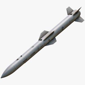 pl-15 missile 3D model