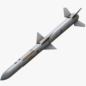 3d pl-12 missile model