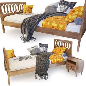 single bed malu la model