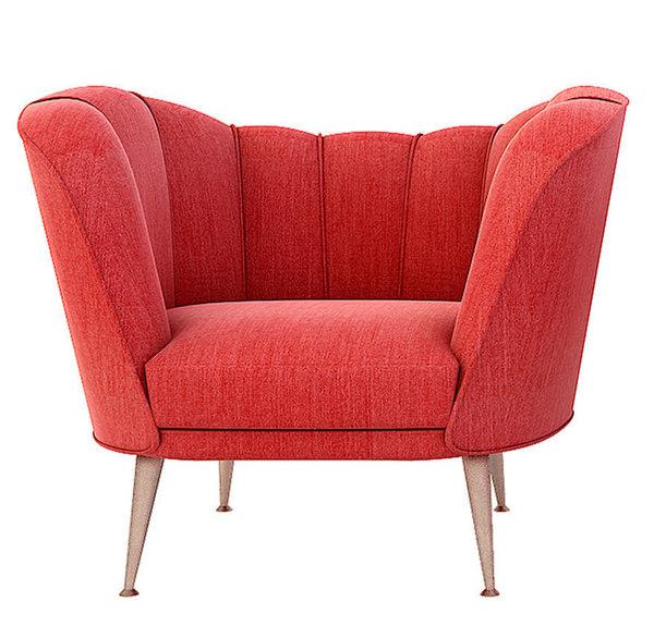 3D brabbu andes armchair