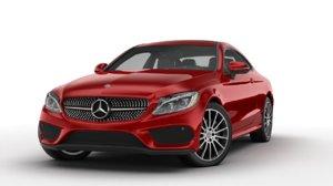 3D model mercedes-benz c-class coupe