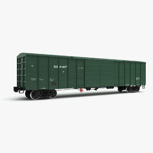 3D boxcar 11-7038 modeled