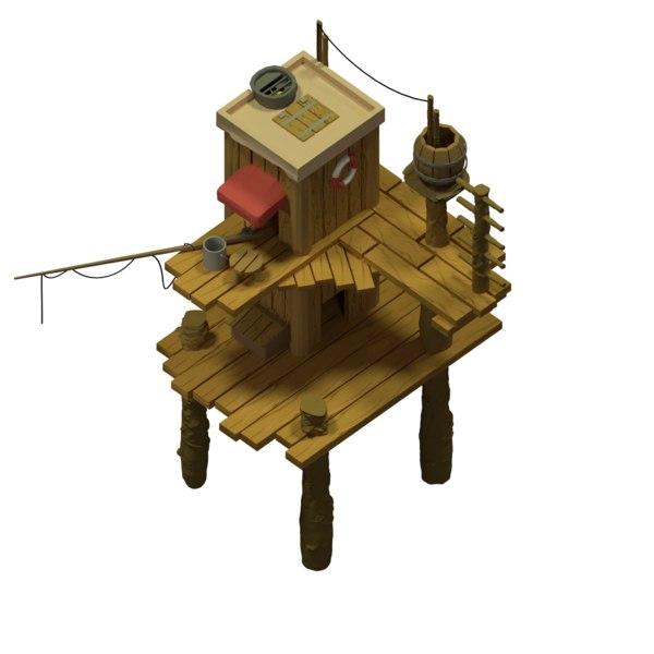 3D model sea house