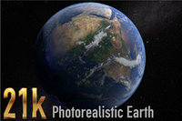 21k Earth Photorealistic