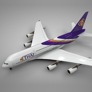 airbus a380 thai airways model