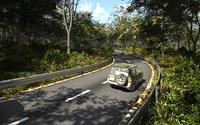 Forest road in Blender