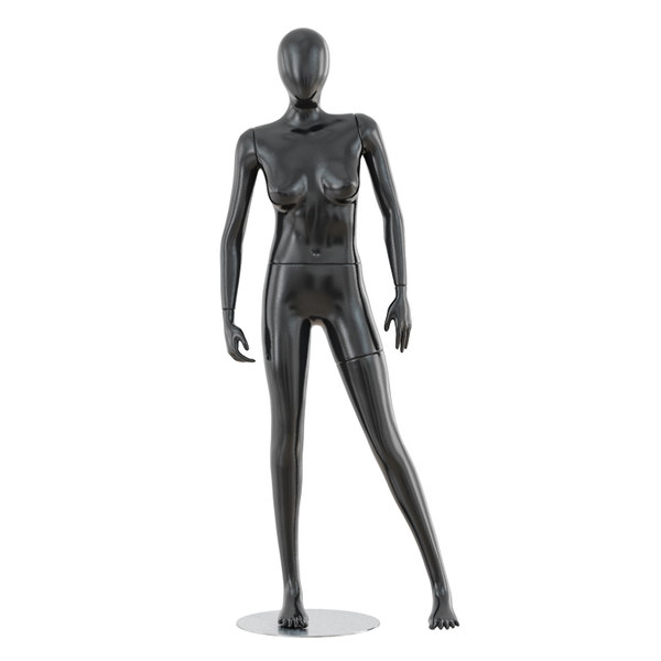 03 abstract female mannequin 3D