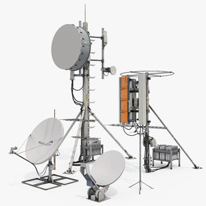 antennas set 3D model