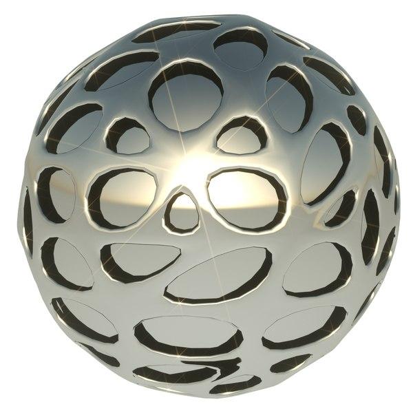 3D ball sphere design