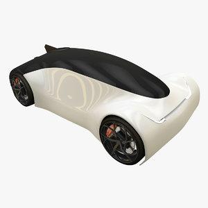 3D concept car r