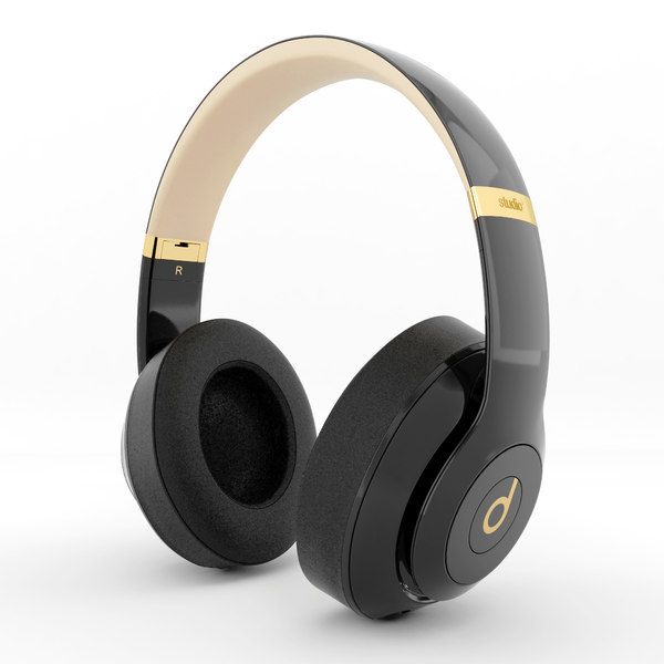 Beats Studio 3 3d Turbosquid 1393242