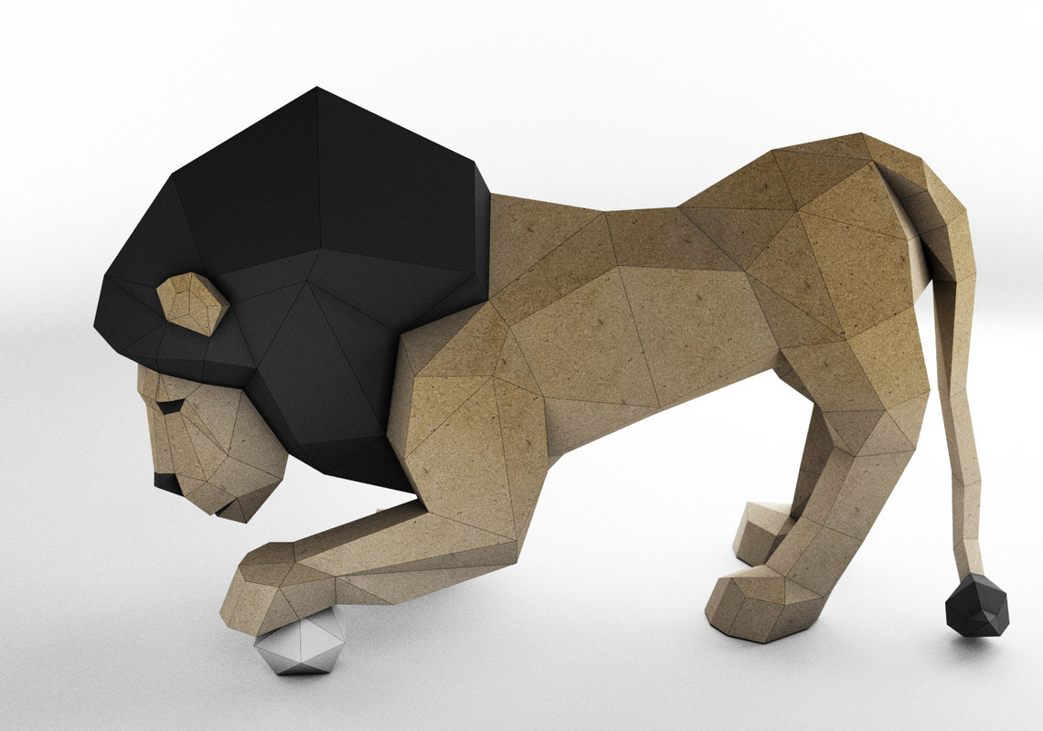 Papercraft pepakura 3D model - TurboSquid 1393278