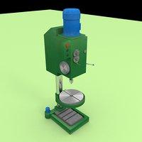 industrial machine 3D