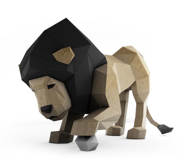 papercraft pepakura 3D model
