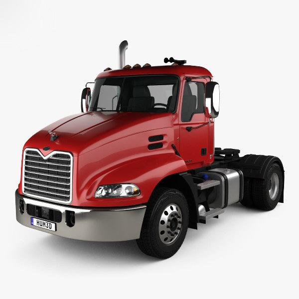 Mack pinnacle tractor 3D - TurboSquid 1393249