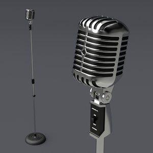 classic microphone model