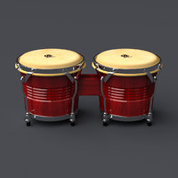 3D musical instrument model