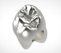 3D model charm silver