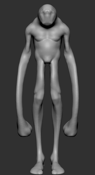 creature ztl zbrush 3D model