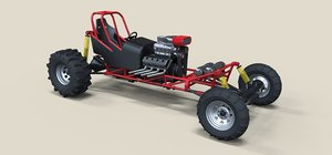 drag dragster mud 3D
