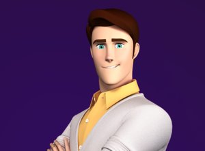 3D character stylized male